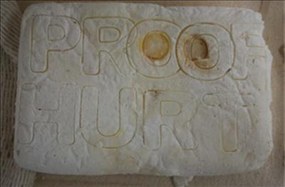 PROOF by Sarah King, Sculpture, SOAP