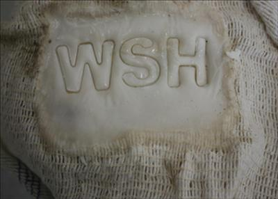 WSH by Sarah King, Sculpture, SOAP